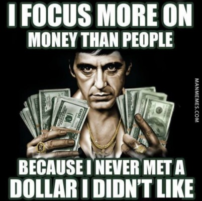 Image of: Piercing From Askideascom Quora Money Is Love Money Is Life Funny Meme About Money Eyesimple